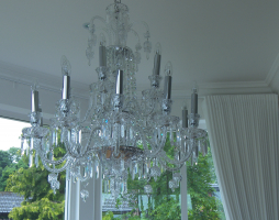 Chandelier Obtained for Design Project