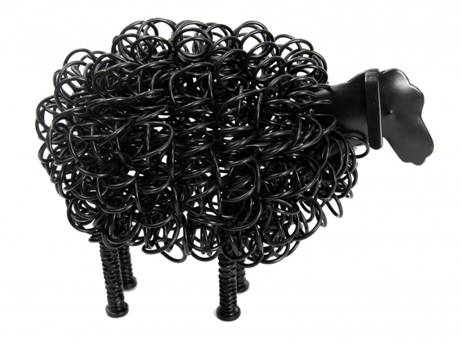Black wiggle sheep, also available in Silver