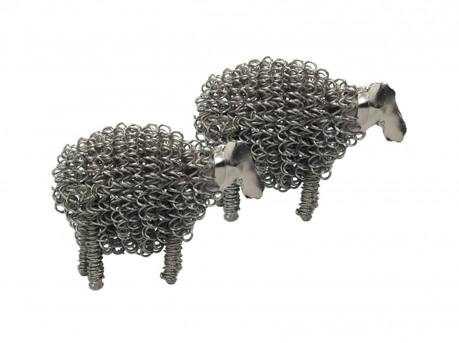Silver wiggle lambs, also available in black
