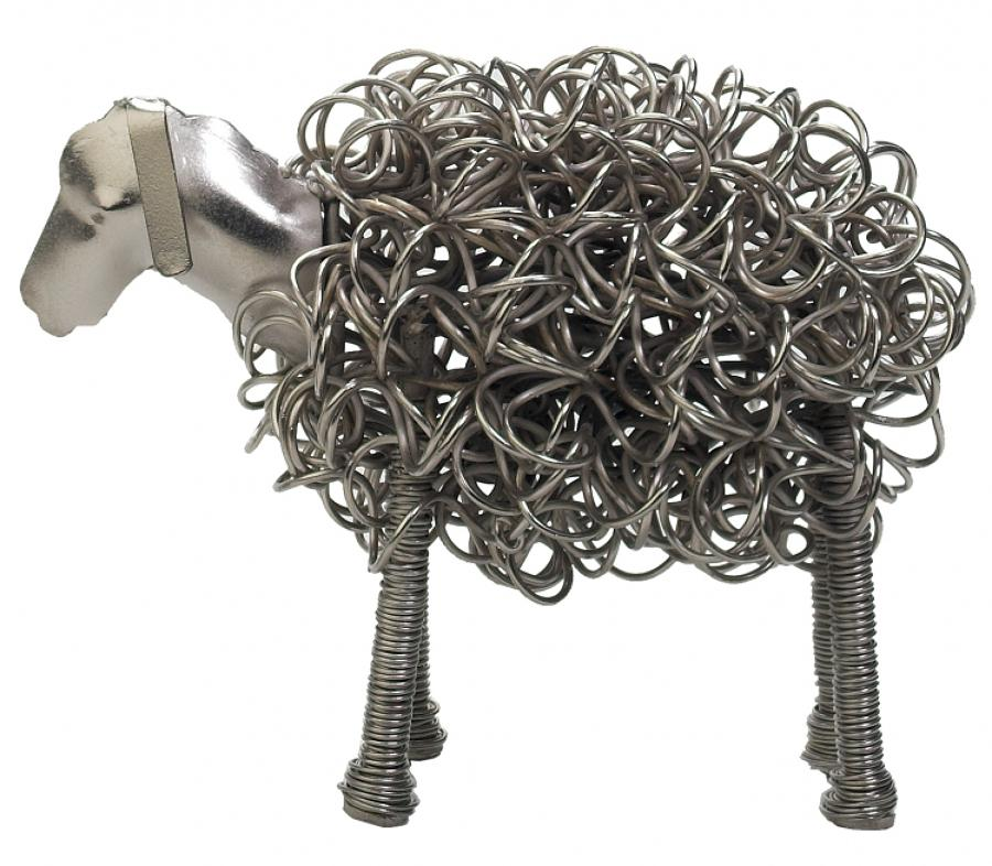 Silver sheep, also available in black