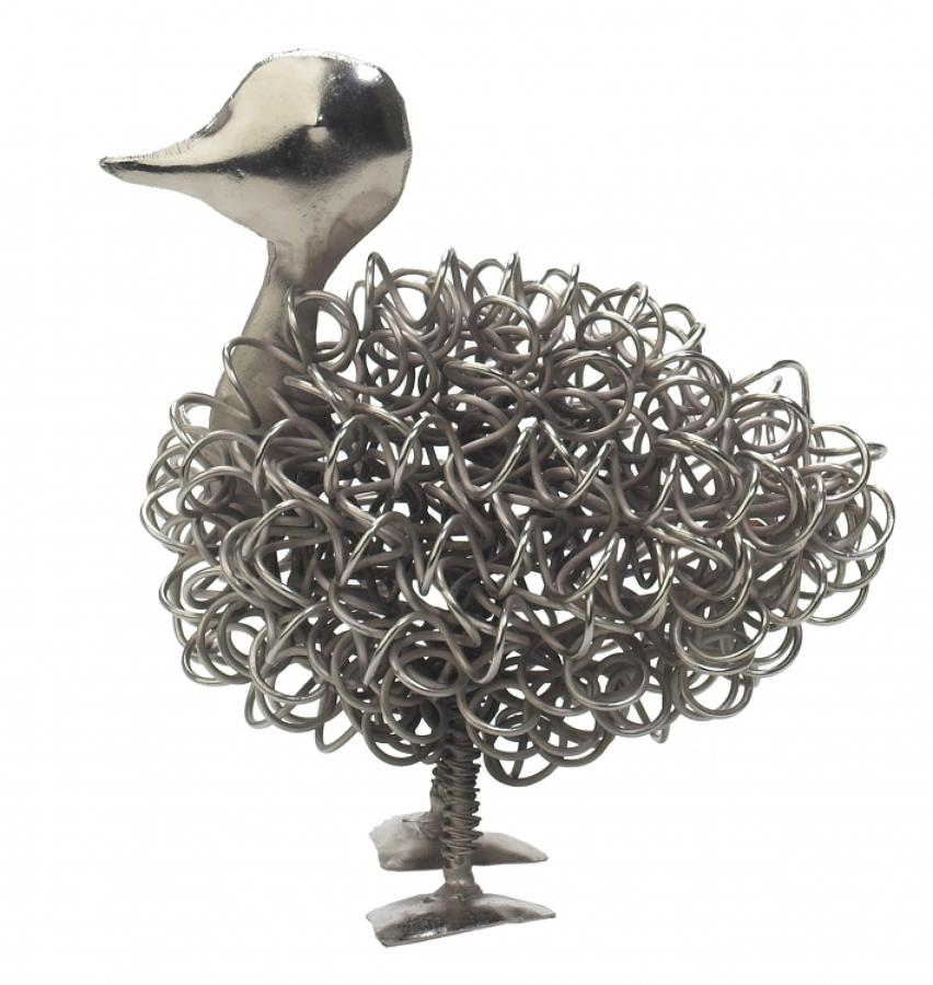 Silver wiggle duck, also available in a duckling