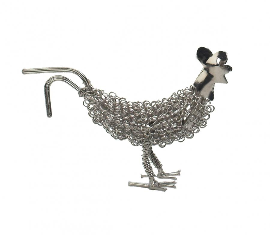 Silver wiggle chick, also available as a rooster