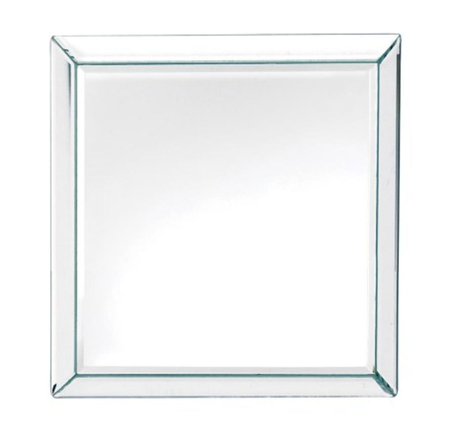 Simple, square mirror