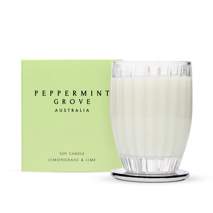 Lemongrass & Lime - Large Luxury Soy Candle