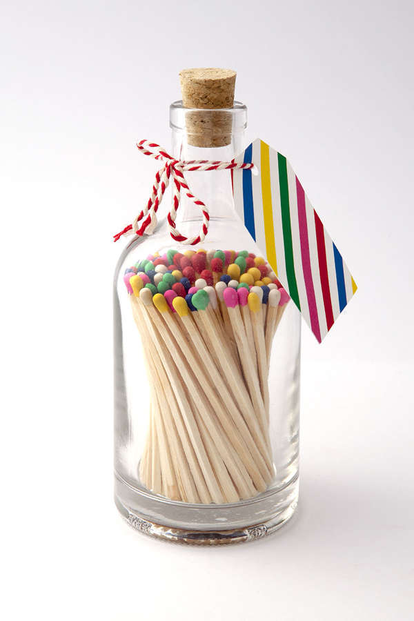 Matches in a bottle
