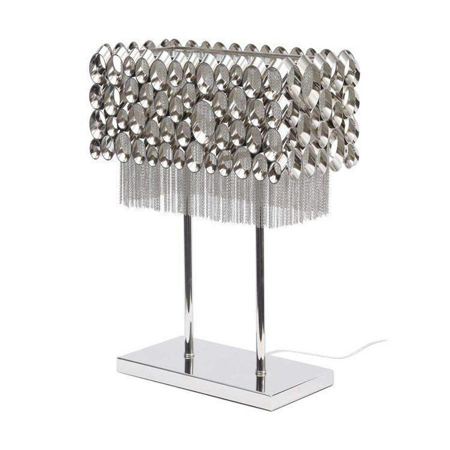 Bubble and Chain Table Lamp
