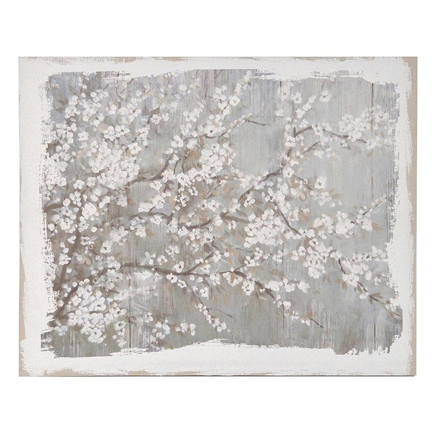 Cherry blossom extra large canvas