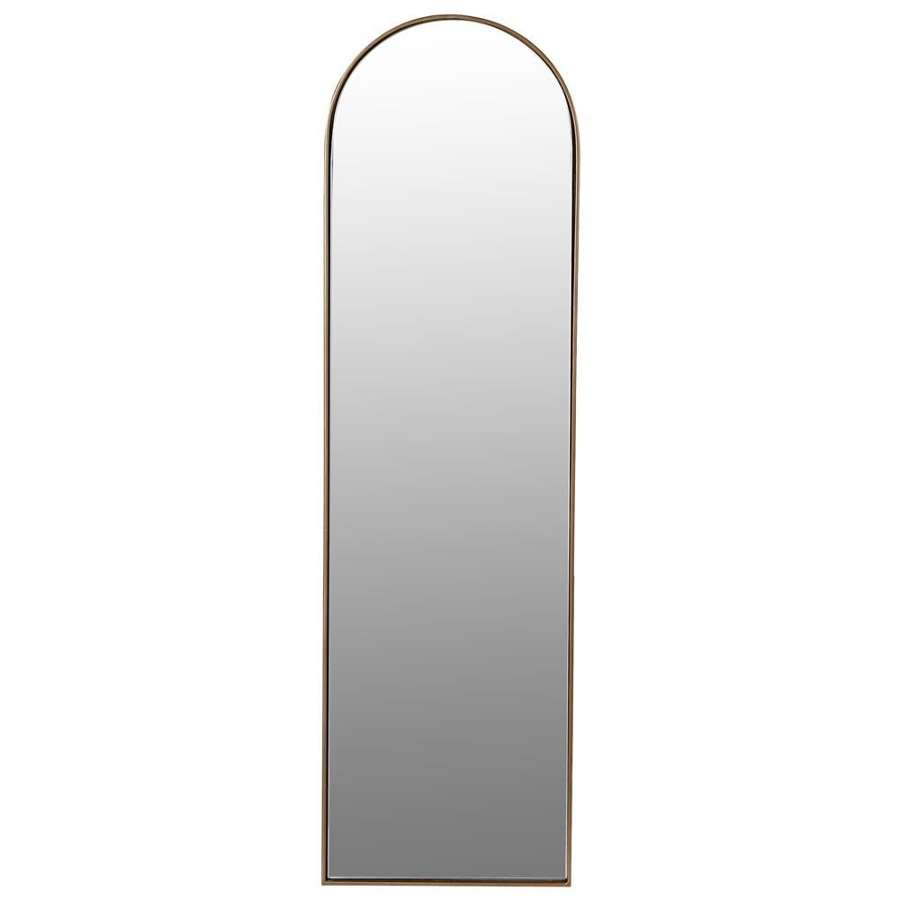 Simple Arched Mirror