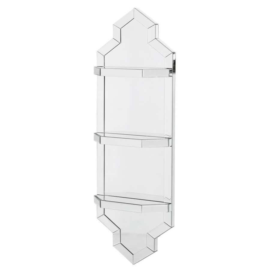 Mirrored Shelf Unit