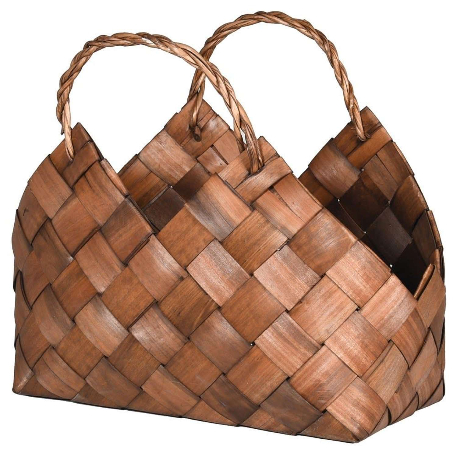 Large Woven Decorative Willow Basket