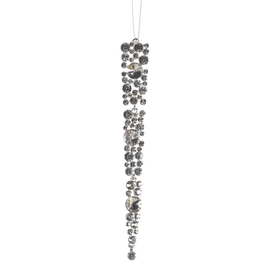 Diamate icicle gem decoration