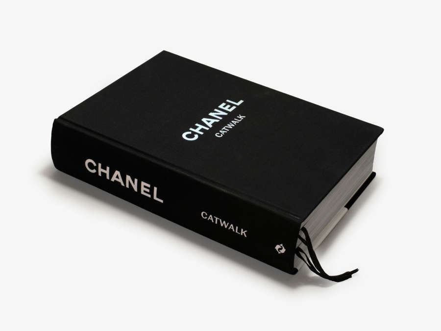 Designer Coffee Table Book - Chanel