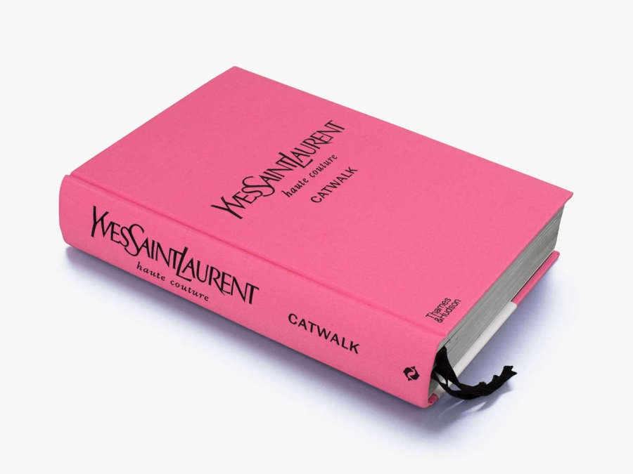 Designer Coffee Table Book - YSL